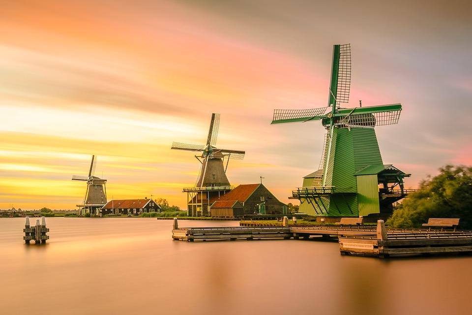 オランダ 20日間以内料金一律 3G Wi-Fiルーター
